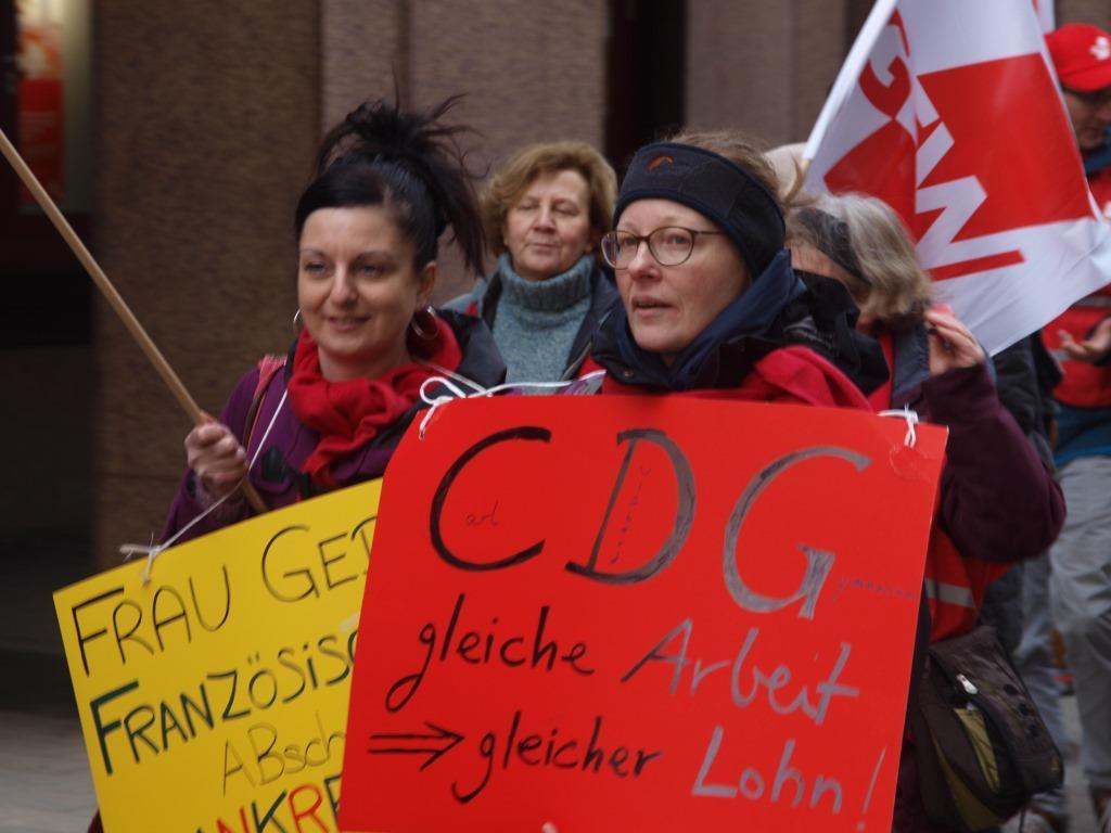 Wuppertal Angestellte Lehrkräfte Im Streik Gew Nrw